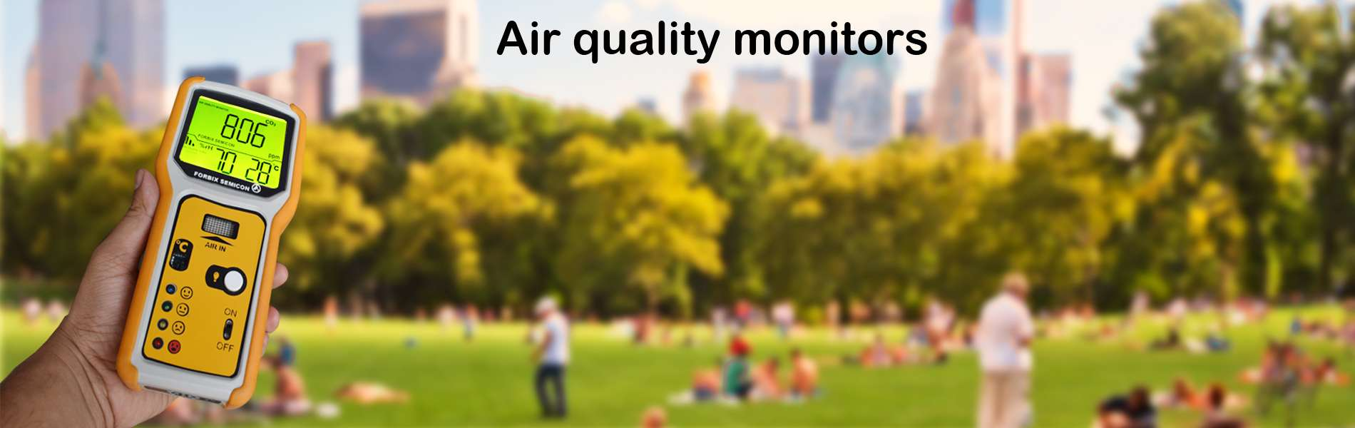 FORBIX Osaühing air quality monitors