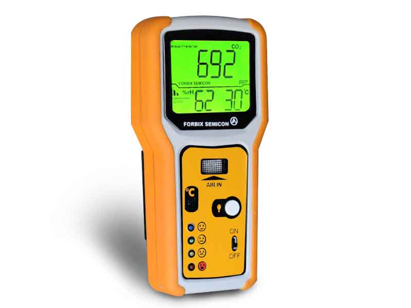 Air monitor carbon dioxide meter