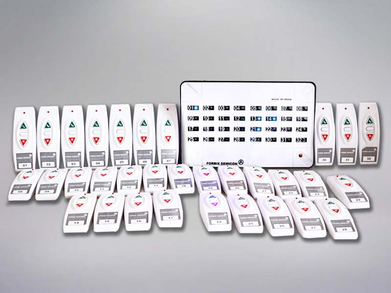 32 indicator wireless calling system